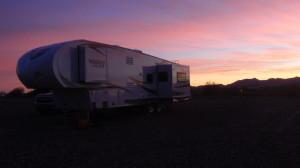 Another incredible Arizona sunset.