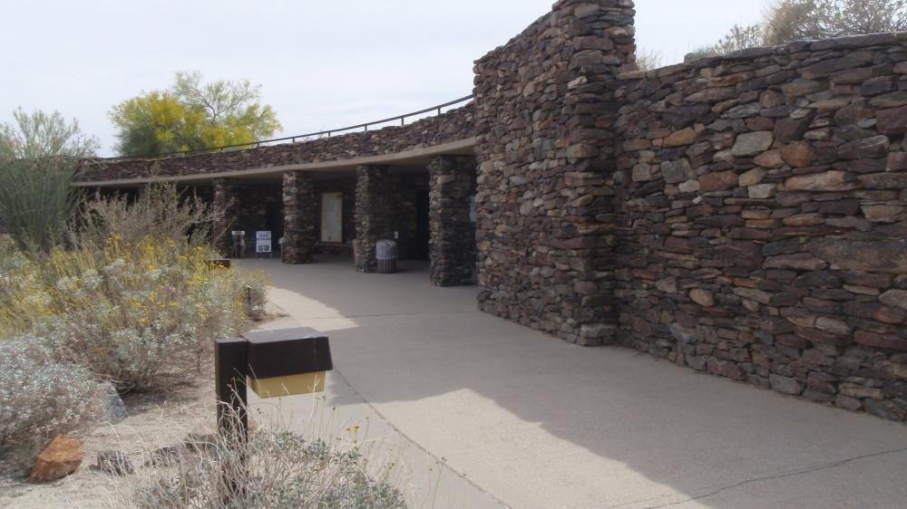 Anza Borrego Park interpretive center - built underground
