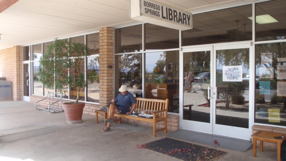 Library - great place for internet access