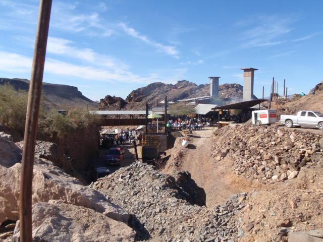 Desert Bar - originally a mine site.