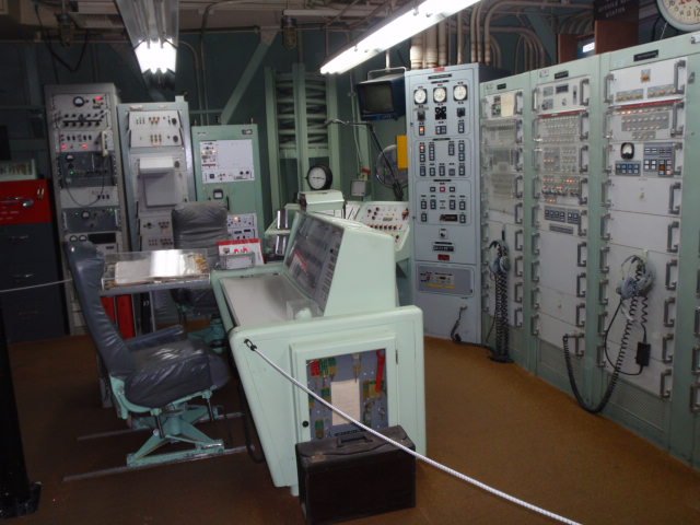 Another angle of control room.