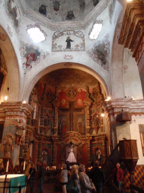 An altar.