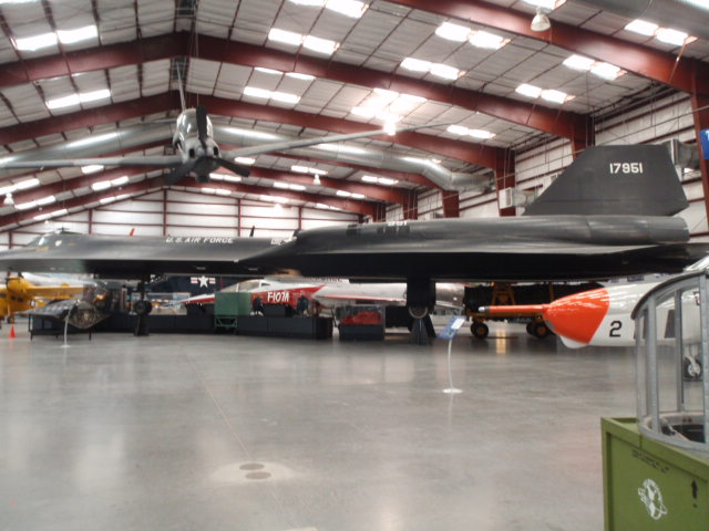 Blackbird - now declassified but once a very effective reconnaissance secret
