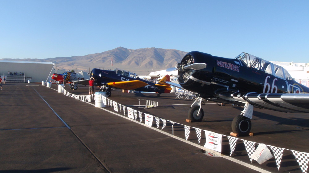 Texans, T3s, Harvards - by whatever name they are loud