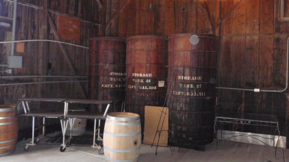 Winery decor.